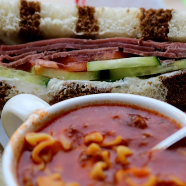 Bowl of Soup & Thinwich